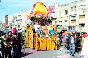 Impressive Jagannath Puri Rath Yatra taken out