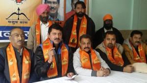 Shiv Sena (Thackrey) asks Rohingyas, Bangladeshis to leave Jammu