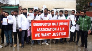 Unemployed MMPHWs demand advertising of posts