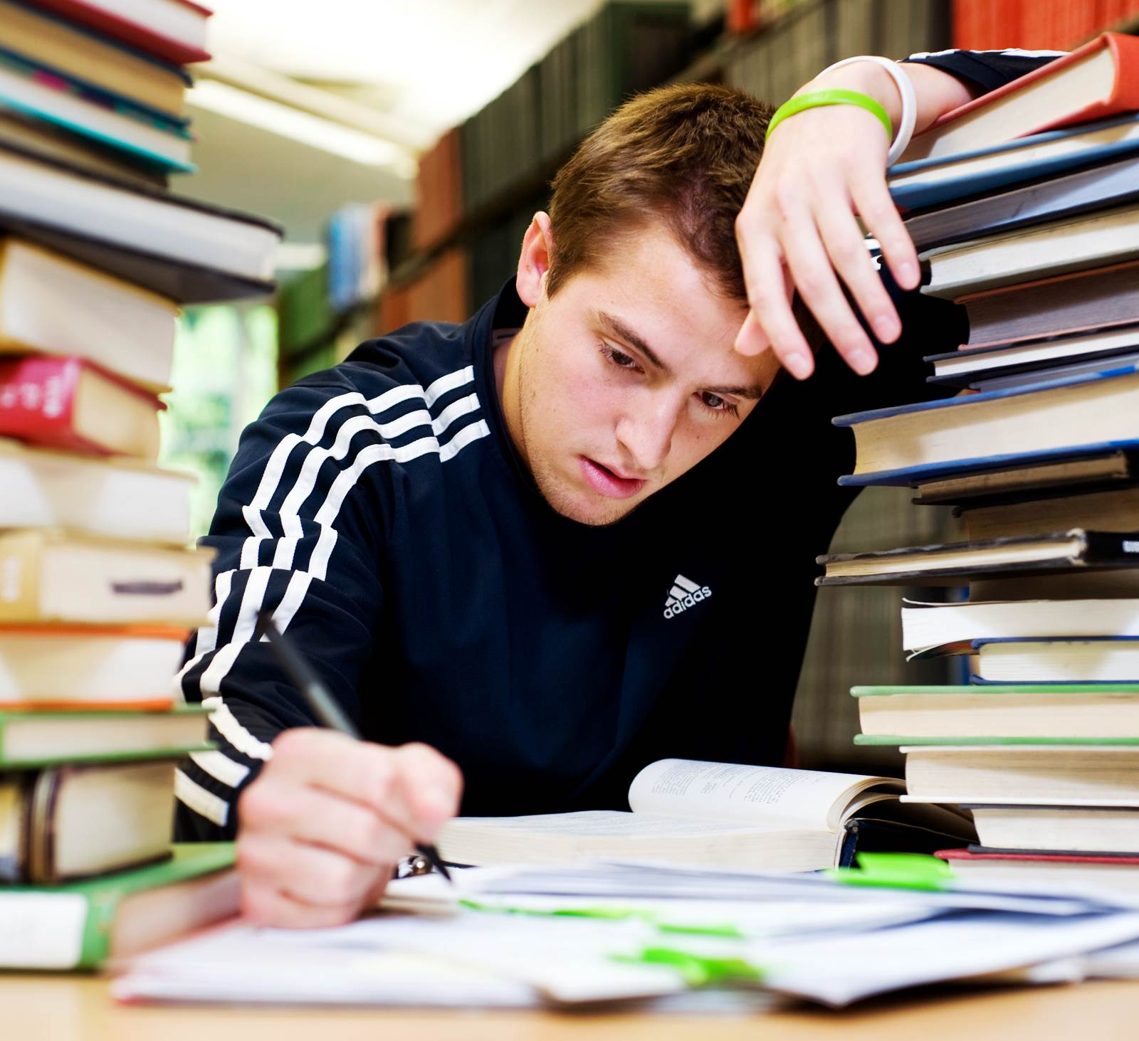 an examination of the stress in college students Common causes of stress among students  foods that can increase stress levels in students include those that are  physical symptoms of stress in college students.