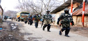 2 militants, cop killed in Tral; Major among 5 injured