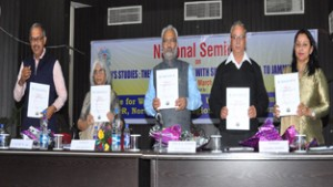 National seminar on  'Women's Studies' begins at JU
