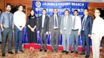 Participants of the seminar organised by the J&K Branch of ICAI posing for group photograph.