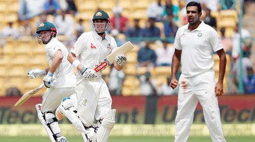 Australia were 23-2 against India at stumps on day 4