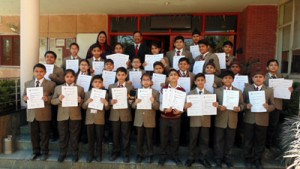 Jodhamal students excel in IAIS