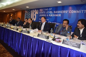 SLBC reviews performance of banking sector in J&K