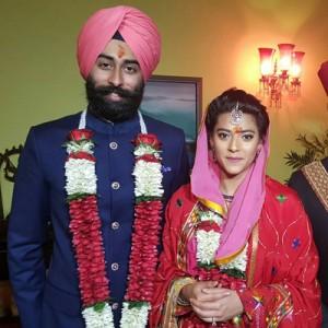 Granddaughter of KaranSingh ties nuptial knot in 'Regal' way