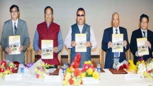 Ganga inaugurates international conference on 'Renewable Energy' at SMVDU