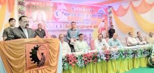 Modi Govt reaching out to last man: Dr Jitendra