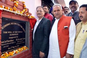 Gandhi Nagar coming up as model constituency: Kavinder