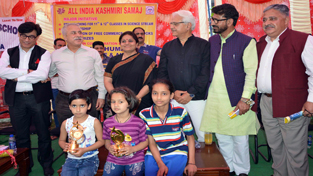 Minister of State for Education Priya Sethi during the inauguration of free coaching classes at Nagrota.