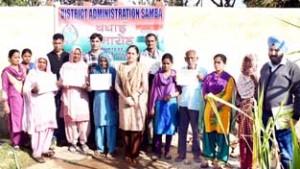 Katli Panchayat households contribute towards clean Samba under CLTS campaign