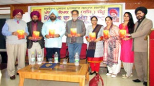 PLS releases book on Dr  Monojit's literary works
