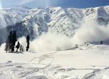 Avalanche warning issued in central Kashmir