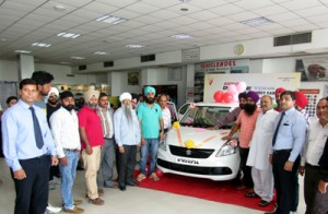 New Dzire Tour launched  at Jamkash Vehicleades