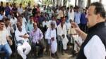 NC Provincial President Devender Singh Rana addressing public gathering in Nagrota Constituency on Wednesday.