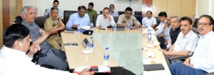 Veeri lays stress on effective disaster management system