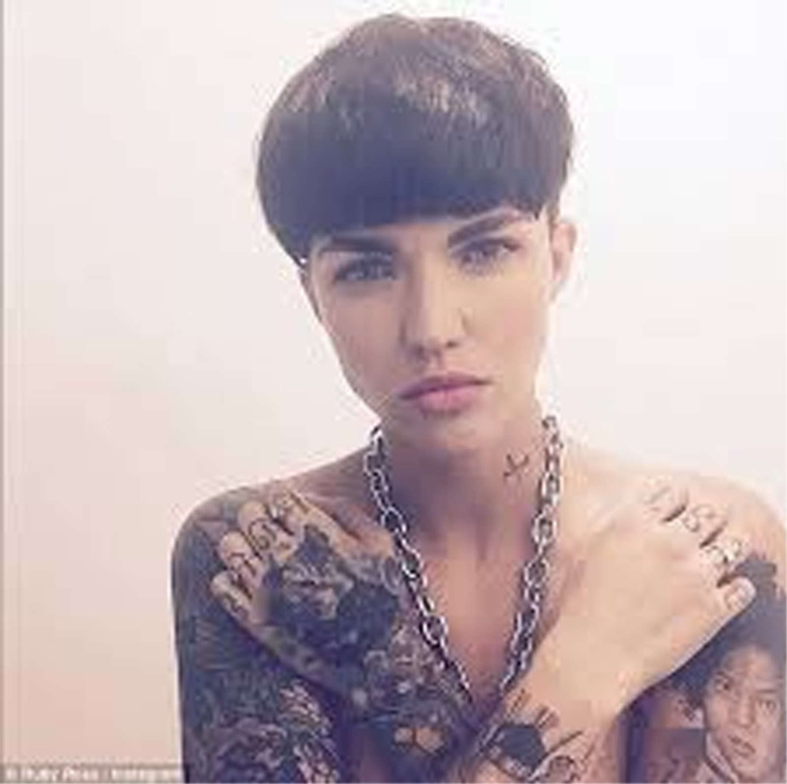 Ruby Rose Loved Her Bowl Haircut