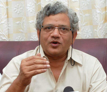 Yechury calls for end to ''cycle of violence'' in Kashmir