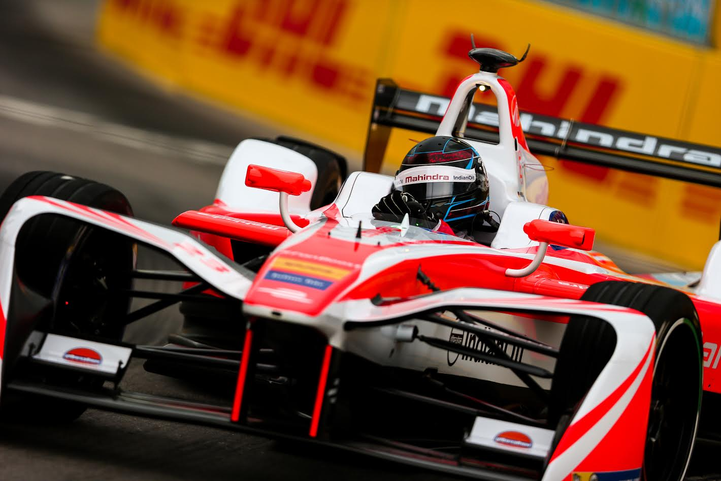 Paris Mahindra Racing Recorded Their Best Ever Double Points Finish In The Fia Formula E Championship After Nick Heidfeld And Felix Rosenqvist Came Home