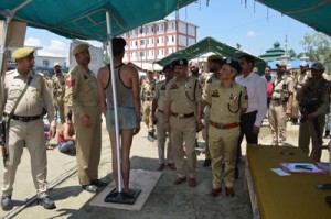 Police recruitment to help in fight against militancy: DGP