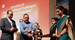 Dr Jitendra inaugurates Medical  Conclave on Legal, Ethical Challenges