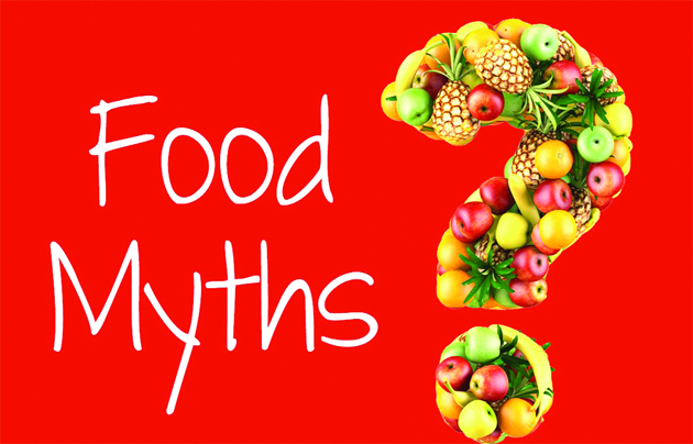 Image result for myths about food