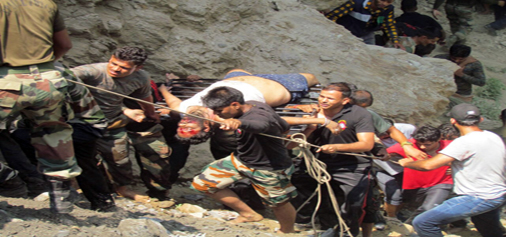 17 Amarnath pilgrims killed, 28 injured  as bus plunges into 200 feet deep gorge