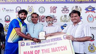 Combine Cricket Club Doda drubs Natnoo Cricket Club by 28 runs