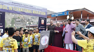 Kargil International Marathon concludes