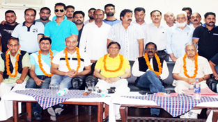 Dushyant elected president of J&K Wrestling Association