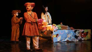 A scene from the play 'Bobby'.