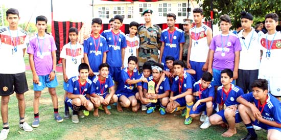 Army organizes Football Training Prog for youth