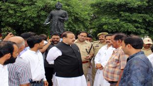 Desecration of Mian Dido statue;  Rana urges Govt to uphold Dogra pride