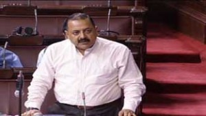 Union Minister Dr Jitendra Singh speaking in Rajya Sabha on Thursday.
