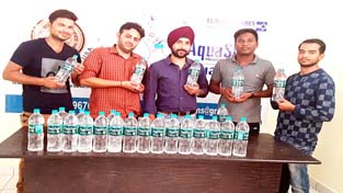 Eureka Forbes launching packaged drinking water 'Aquasure'.