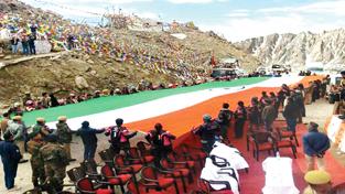 Biking Queens at Khardung La pass in Ladakh.