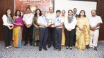 Winners of Inter-School Quiz Competition posing along with dignitaries in Jammu.