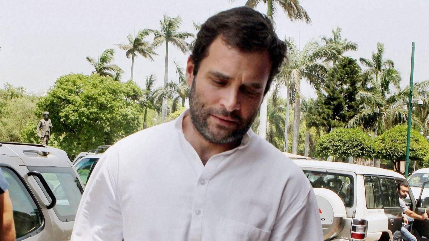 Image result for Rahul gandhi sad