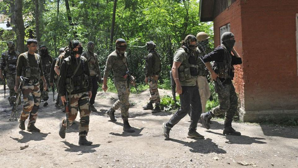 Security Forces Resume Search Operation In Kupwara