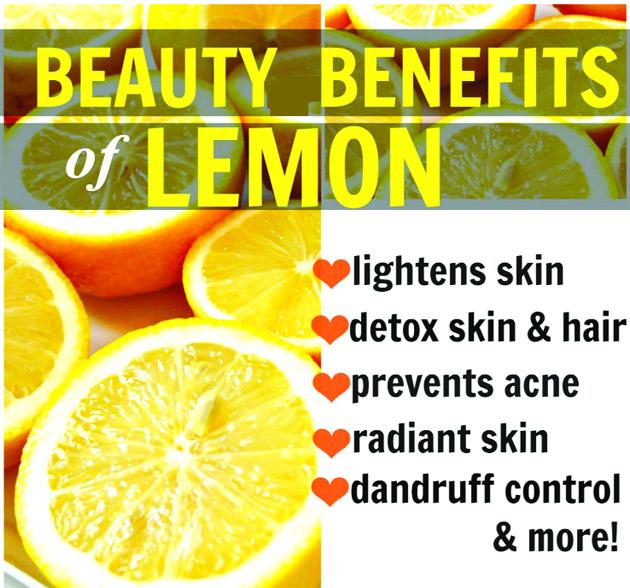 Beauty Benefits of Lemon