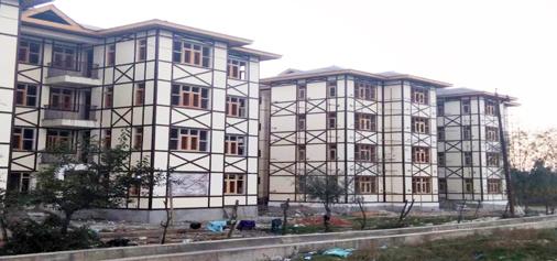 Accommodation for Kashmiri Pandits remains incomplete at Vessu.-Excelsior/Sajad Dar