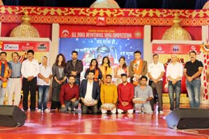 Winners of preliminary round on 6th day of Devotional Song Competition at Katra.