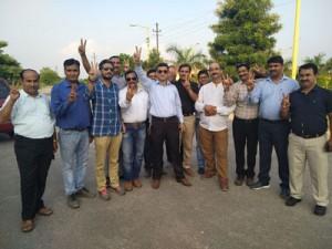 SKUAST-TAJ team  re-elected for second term