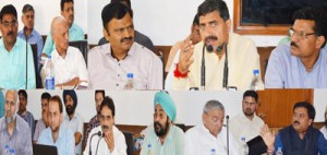 Jugal reviews implementation of central schemes in border areas