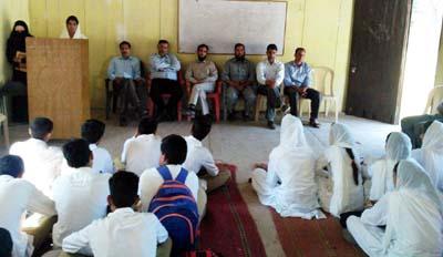 The members of AJKPA during meeting at Jammu.