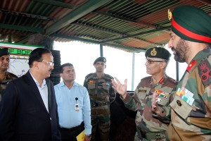 MoS Defence  visits more  forward areas
