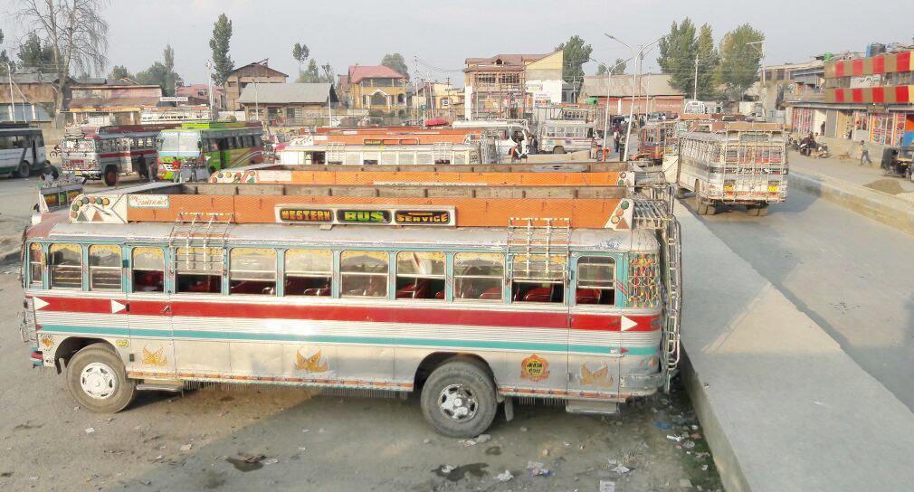 Srinagar-Parimpora Bus Stand.