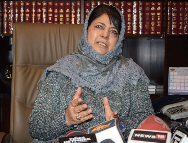 Bring Tulail under cellular coverage area, Mehbooba writes to Union Communications Minister