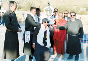 LSRC Red lifts LBA Martyrs Traditional Archery Cup